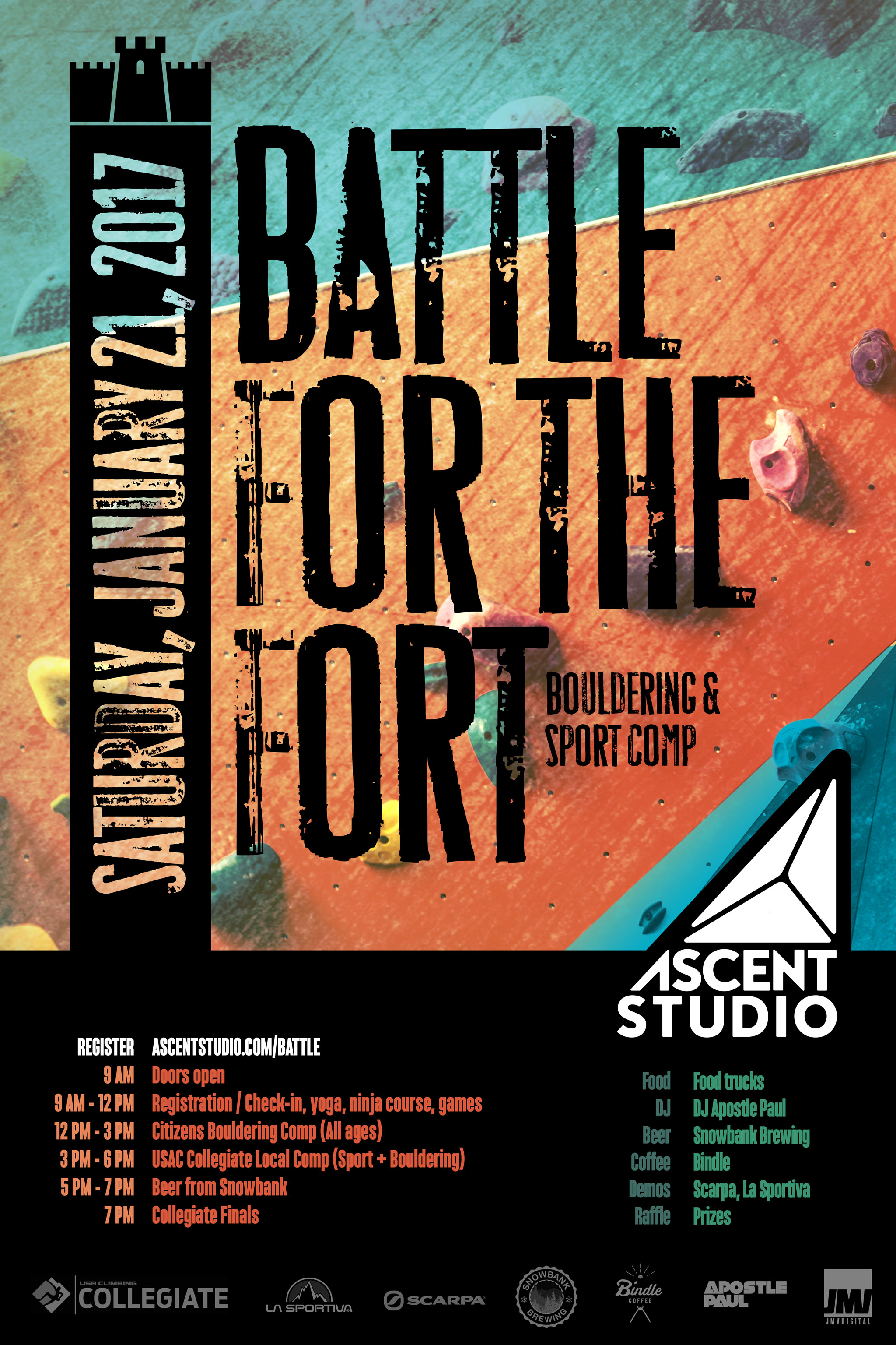1350 - Battle For the Fort Poster v4